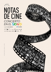 Concerts 'Movie notes' with the Soho Pop Symphony Orchestra and Arturo Díez Boscovich