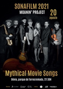 SONAFILM 2021 - Moanin' Project - Mythical Movie Songs