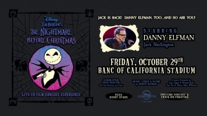 'The Nightmare Before Christmas Live-To-Film Concert Experience' with Danny Elfman - Halloween 2021