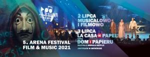 Arena Festival: Film & Music 2021 - Banner