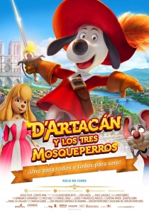 'Dogtanian and the three muskehounds' - Poster