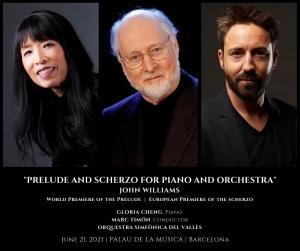 Concierto 'John Williams, para siempre' en Barcelona - OSV, Marc Timón, Gloria Cheng [ESTRENO MUNDIAL]