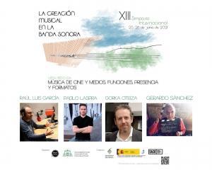 XIII International Symposium - La creación musical en la banda sonora - Round table