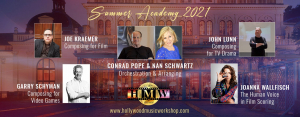 Hollywood Music Workshop 2021 - Full program