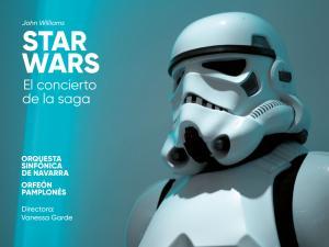 'Star Wars - El Concierto de la Saga' con la Orquesta Sinfónica de Navarra y Vanessa Garde