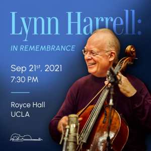 Concert 'Lynn Harrell: In Remembrance' with John Williams, Anne-Sophie Mutter, and Musical Friends