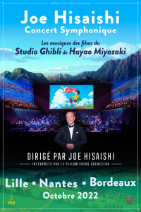 Joe Hisaishi in France in 2022 - Poster