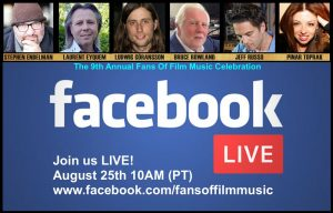 Fans of Film Music 9 - Facebook Live