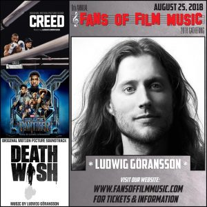 Fans of Film Music 9 - Ludwig Göransson