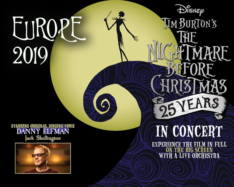 Nightmare Before Christmas Concert 2020 The Nightmare Before Christmas in Concert with Danny Elfman comes