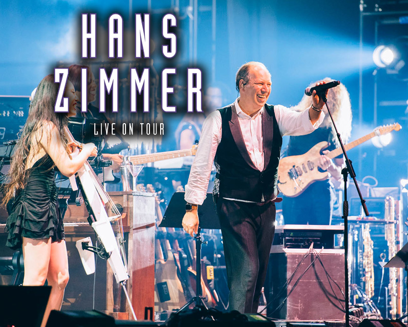Hans Zimmer takes his show 'Hans Zimmer Live On Tour' to Asia